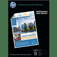 HP Q 6550 A Matt Laser-Fotopapier matt  210 x 297 mm  A4 100 Blatt