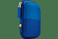CASE LOGIC Portable Hard Drive Case Festplatten Case, Blau