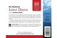 Jonathan Keeble - Lorna Doone - (CD)
