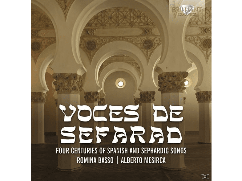 Romina Basso, Alberto Mesirca, Turkish Ensemble - Voces De Sefarad [CD]