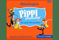 Astrid Lindgren - Pippi Langstrumpf.Die Große Hörspielbox - (CD)