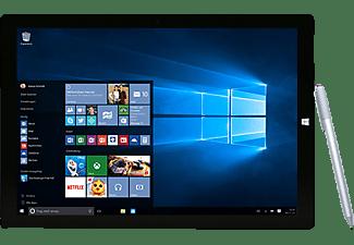 MICROSOFT Surface Pro 3, Convertible mit 12 Zoll Display, Core i5 Prozessor, 4 GB RAM, 128 GB Flash, Silbergrau