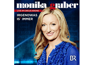 Monika Gruber - Irgendwas Is Immer  - (CD)