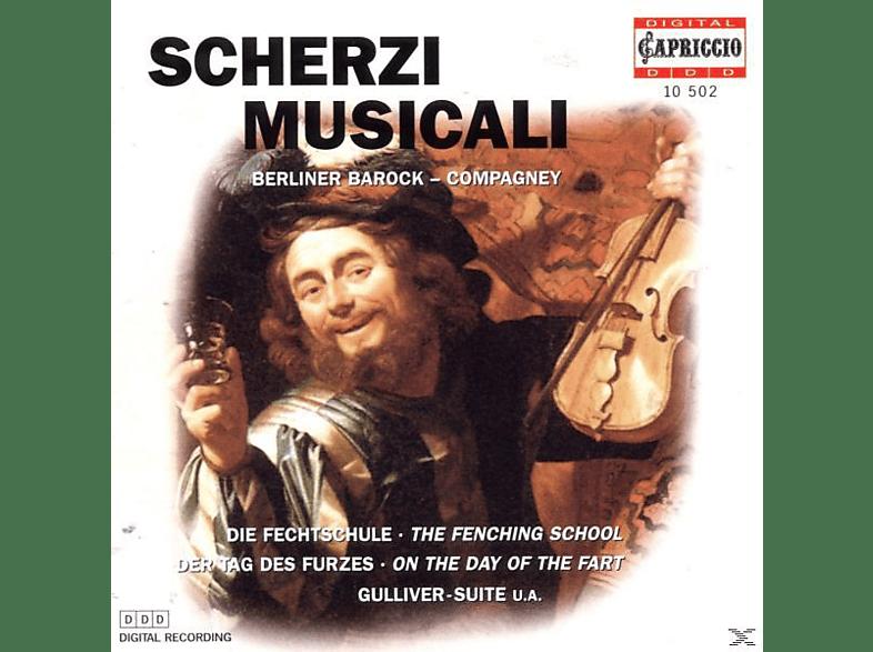 Berliner Barock - Scherzi Musicali [CD]