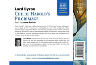 Jamie Parker - Childe Harold's Pilgrimage - (CD)