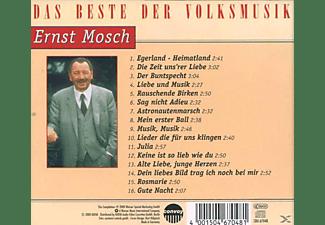 Ernst Mosch, Die Egerländer Musikanten - Das Beste Der Volksmusik - Ernst Mosch  - (CD)