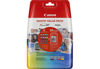 CANON CLI-526 C/M/Y/BK Tintenpatrone mehrfarbig (4540B017AA)