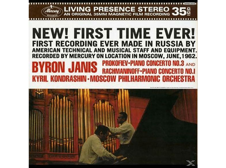 Byron Janis, Moscow Philharmonic Orchestra - ENCORE [Vinyl]
