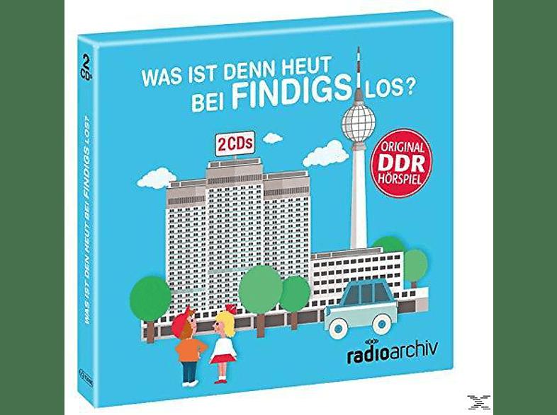 Hörbuch - Was ist denn heut bei Findings los? - (CD)
