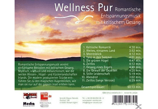 Wellness Pur - Romantische Entspannungsmusik-Keltisch  - (CD)