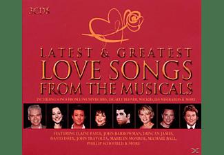 VARIOUS - Latest & Greatest Musical Love Songs  - (CD)
