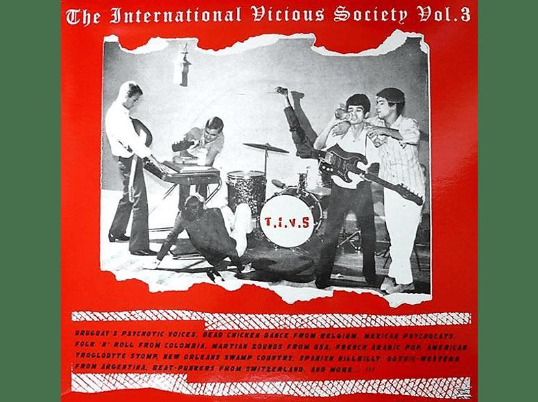 VARIOUS - The Intern.Vicious Society Vol.3 [Vinyl]