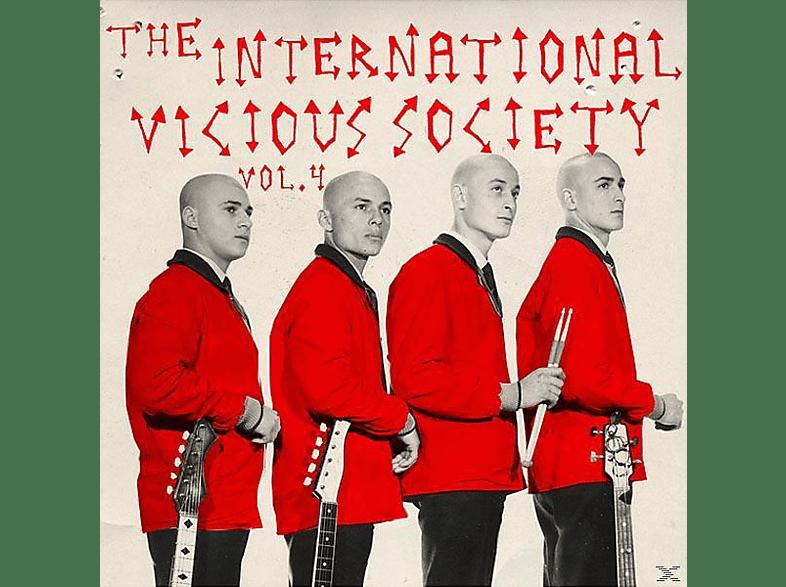 VARIOUS - The Intern.Vicious Society Vol.4 [Vinyl]
