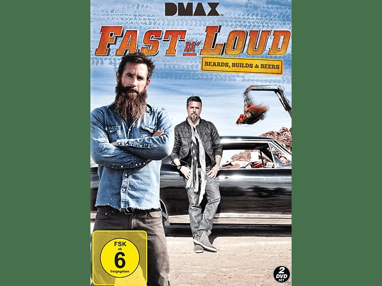 Fast N' Loud - Beers Builds & Beards [DVD]