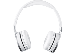 ISY IBH-2100-WT, On-ear Kopfhörer Bluetooth Weiss