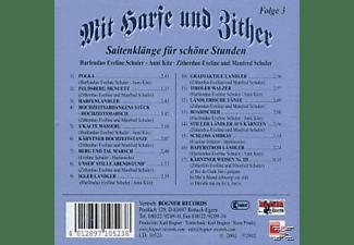 Schüler - Mit Harfe Und Zither-Folge 3  - (CD)
