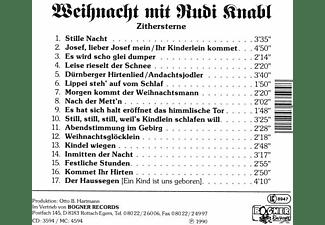 Rudi-zither Knabl - Zithersterne-Weihnacht  - (CD)