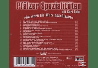 "Kurt Dehn - Pfälzer Spezialitäten ""wuzz""  - (CD)"