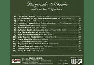 VARIOUS - Bayerische Märsche-Folge 2  - (CD)