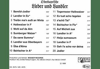 Fischbachauer Sängerinnen - Oberbayrische Lieder Und Landler  - (CD)