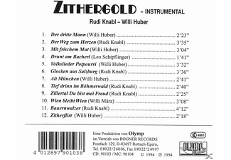 HUBER,WILLI & KNABL,RUDI - Zithergold: Instrumental  - (CD)