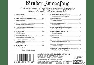 Gruber Zwoagsang/Moser-Margreiter - Volksmusik Aus Österreich  - (CD)
