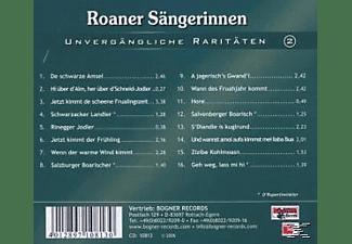 Roaner Sängerinnen - Unvergängliche Raritäten 2  - (CD)