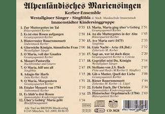 Ensemble - Alpenländische Mariensingen  - (CD)
