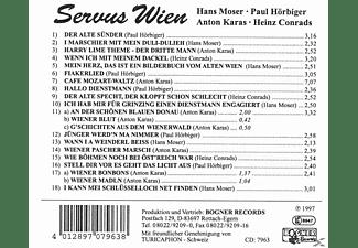 Moser/Hörbiger/Karas/Conrads - Servus Wien  - (CD)