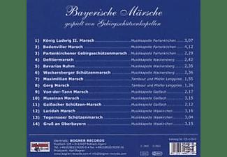 VARIOUS - Bayerische Märsche-Folge 1  - (CD)