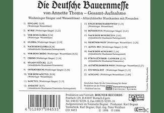Altmühldorfer - Die Deutsche Bauernmesse  - (CD)