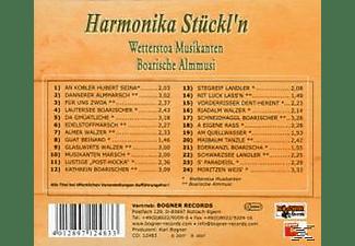 Wetterstoa Musikanten - Harmonika Stückl'n 1  - (CD)