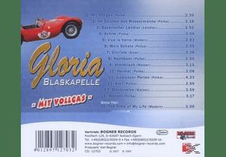 Blaskapelle Gloria - Mit Vollgas  - (CD)