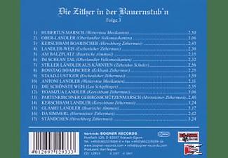 Kerschbam - Zither In Der Bauernstub'n 3  - (CD)