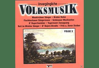 VARIOUS - Unvergängliche Volksmusik 3  - (CD)