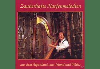 Jutta Kerber - Zauberhafte Harfenmelodien  - (CD)