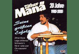 Zither Manä - 20 Jahre-1980-2000/Erfolge  - (CD)