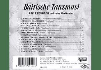 Karl Edelmann - Bairische Tanzmusi 2  - (CD)