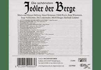 VARIOUS - Die Schönsten Jodler Der Berge  - (CD)