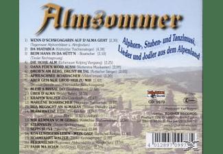 VARIOUS - Almsommer-Alphorn-Stuben-Tanzlmusi  - (CD)