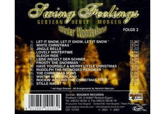 HEINRICH JR.COMB Haas - Swing Feelings 2, Winter Wonderland  - (CD)