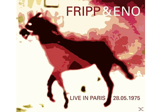 Fripp, Robert & Eno, Brian - Live In Paris - (CD)