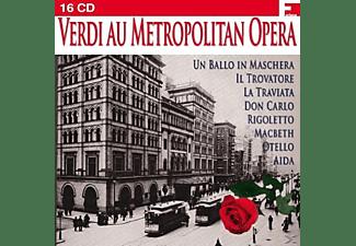 VARIOUS - Verdi Au Metropolitan Opera [Import, Box-Set]  - (CD)