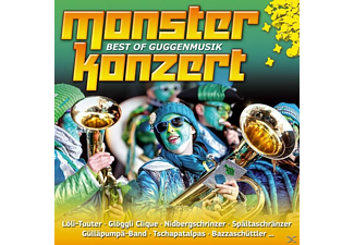 VARIOUS - Monsterkonzert-Best Of Guggenmusik  - (CD)