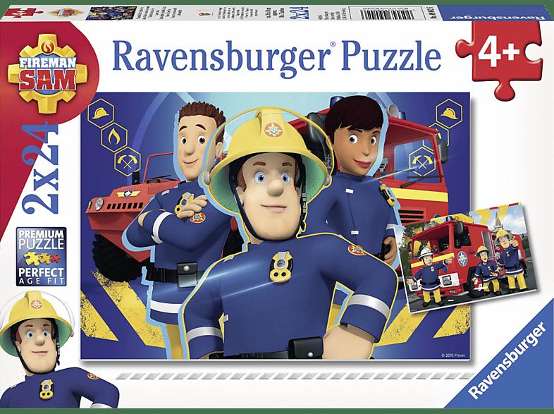RAVENSBURGER Sam hilft in der Not Puzzle, Mehrfarbig