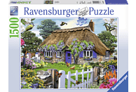 RAVENSBURGER 162970 Cottage in England, Mehrfarbig