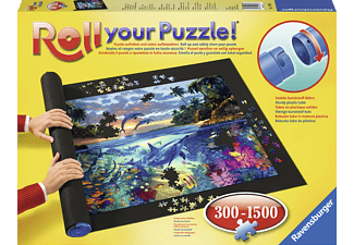 RAVENSBURGER Roll your Puzzle!, Puzzlerolle Puzzle Rolle Mehrfarbig