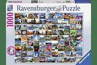 RAVENSBURGER 193714 99 Beautiful Places on Earth, Mehrfarbig