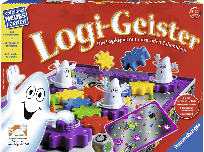 RAVENSBURGER 250387 Logi-Geister, Mehrfarbig