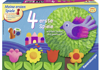 RAVENSBURGER 214174 4 erste Spiele Mehrfarbig